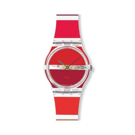 Swatch Red painted time