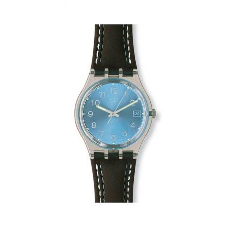 swatch blue choco