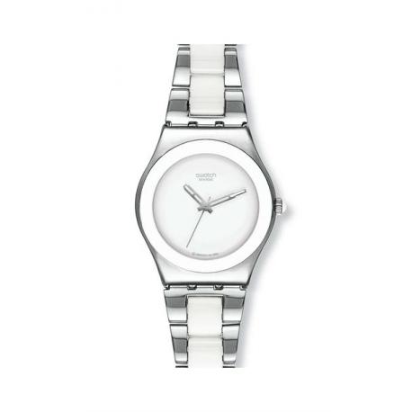 Swatch Tresor Blanc/White Ceramic