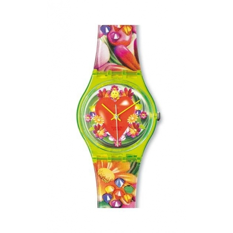 Swatch Love, peace and happiness by Micha Klein