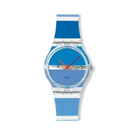 Swatch BLUE PAINTED TIME
