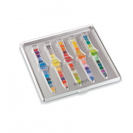 Swatch PAINTED TIME SET - Stephen Dean